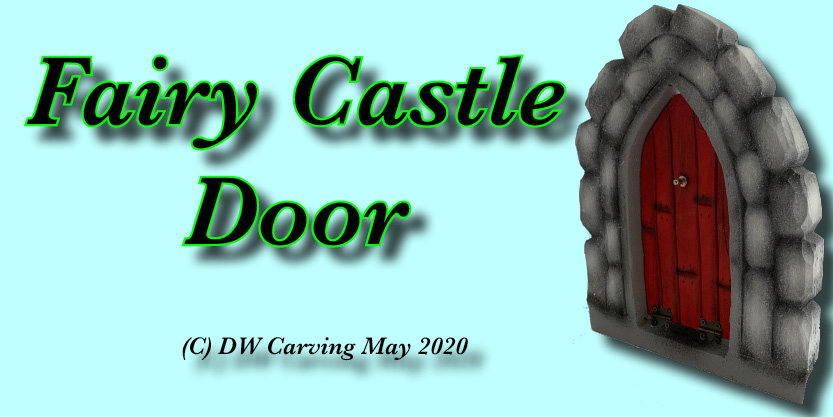 Carved Fairy Castle Doors