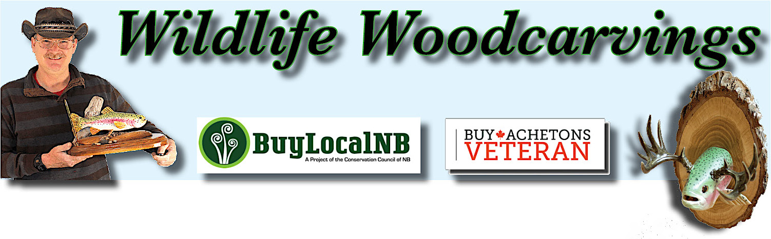 Wild Life woodcarving logo