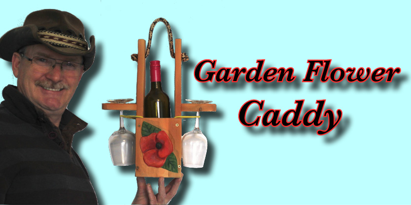 Garden Flower Caddy
